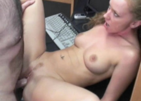 Leighlani Red gets fucked in the office