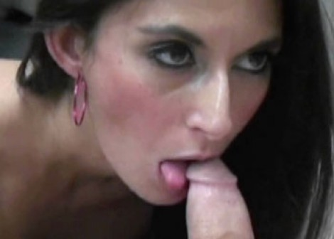 Horny brunette Nikki getting fucked